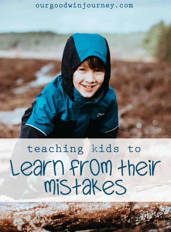Learning From Mistakes - Teaching Kids to Face Mistakes