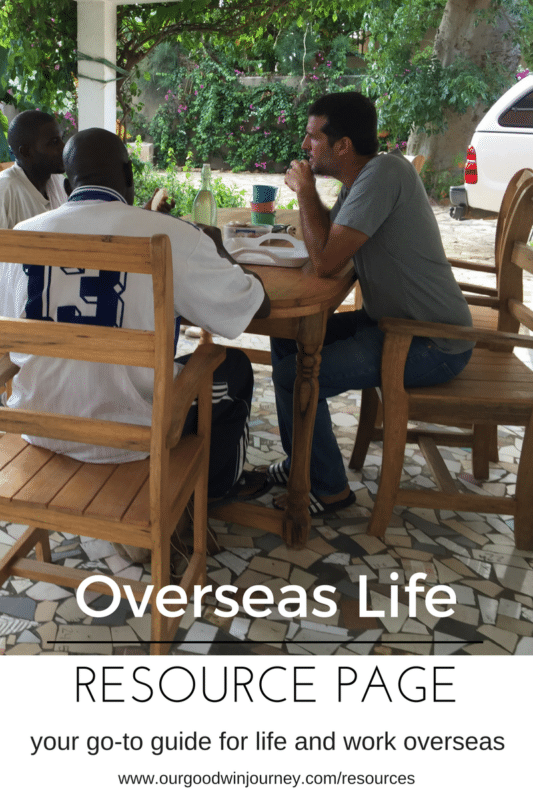 your go-to guide for life and work overseas - resources