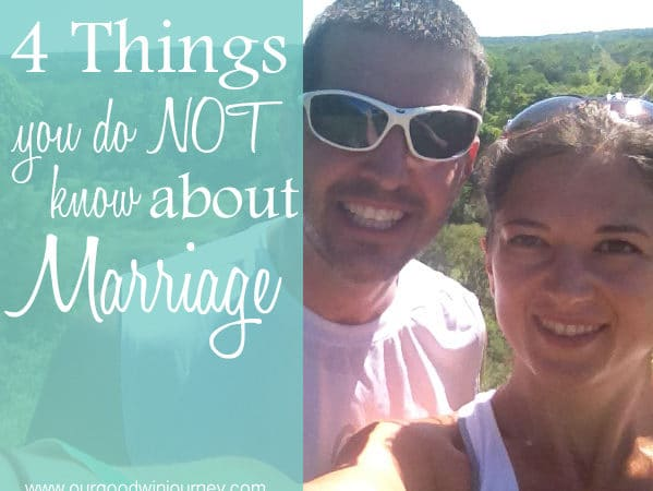 4 Things You Do Not Know About Marriage