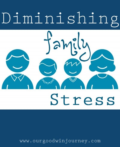Ways to diminish family stress and how to teach your family these helpful principles #family #stress #parenting