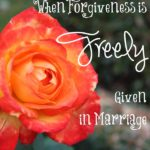 When Forgiveness is Freely Given