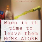 Tips for Leaving Kids Home Alone