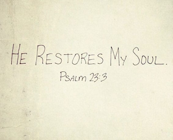 He restores my soul... #health #running #fitness #stress
