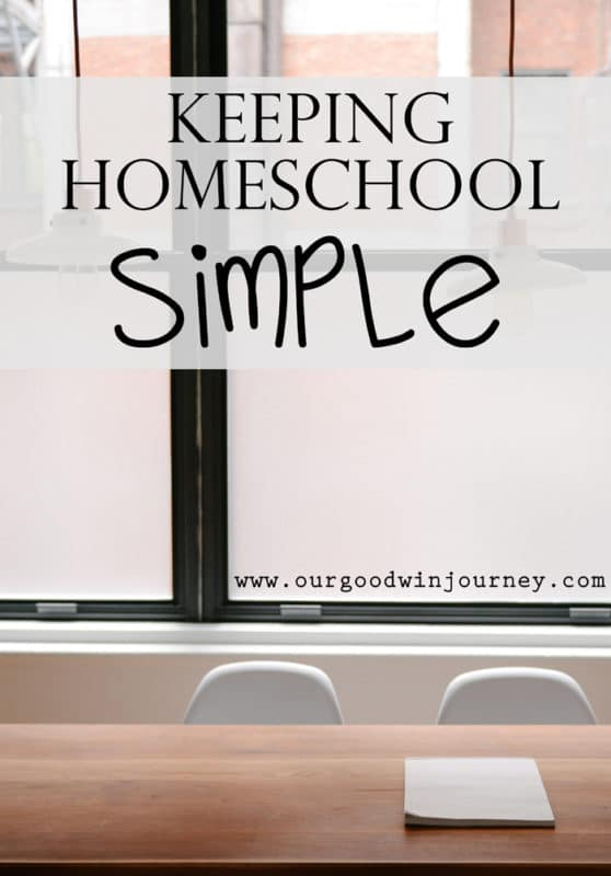 How to Homeschool - Keeping Homeschool Simple