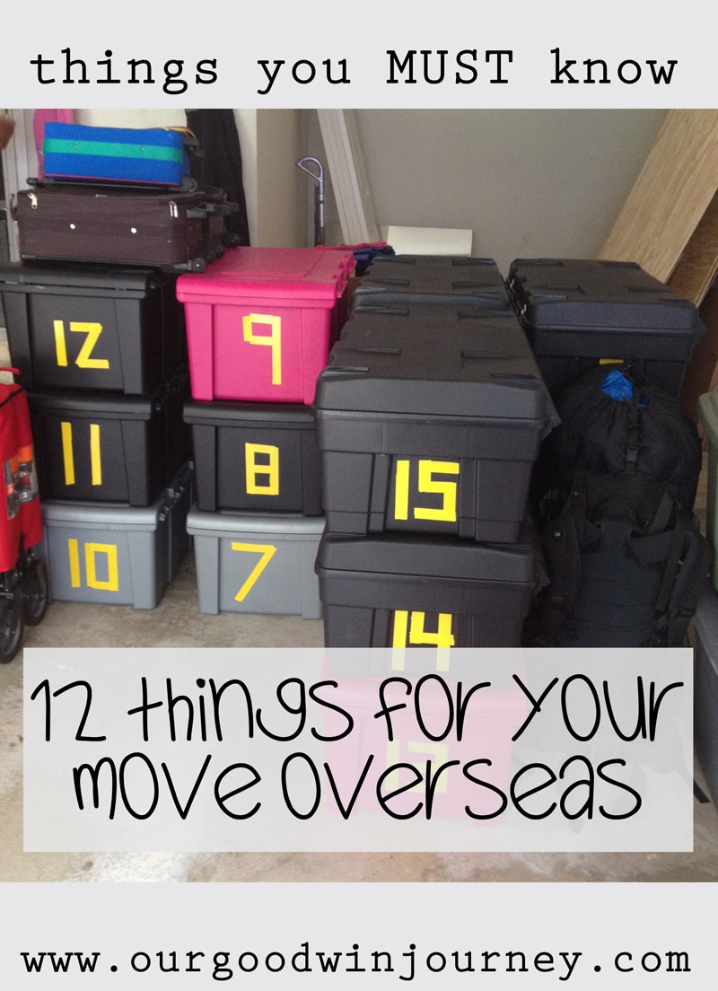 Tips for Moving Overseas