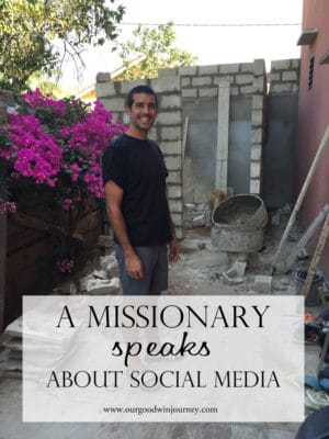 Impact of Social Media on Missions and Missionary Life