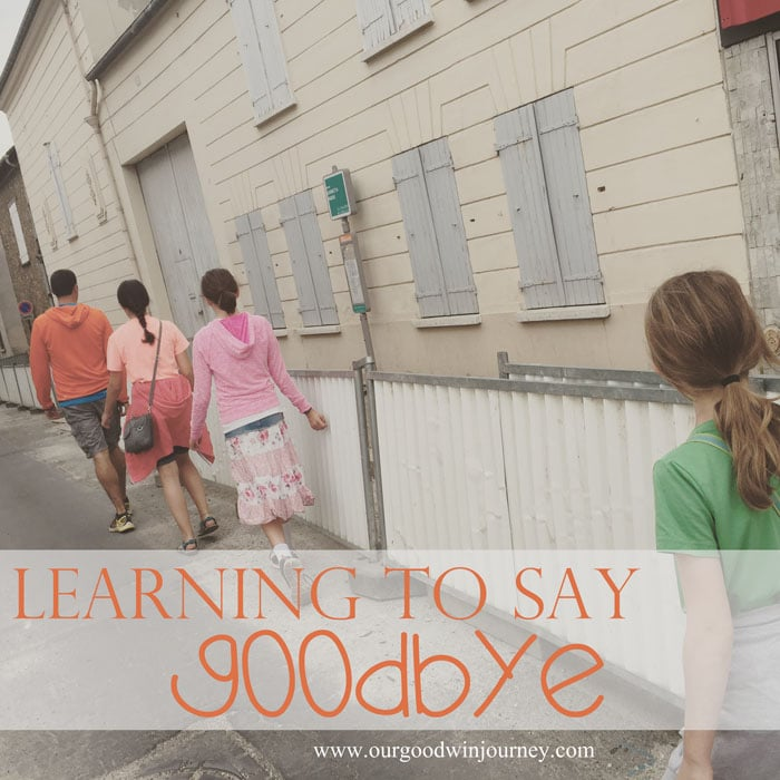 Learning How to Say Goodbye - Helping Your Kids Say Goodbye Well