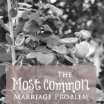 The Most Common Marriage Problem