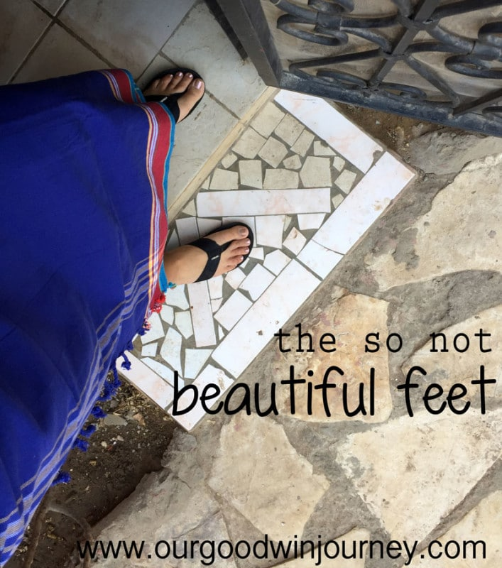How Beautiful Are The Feet of Those Who Bring Good News - Or Maybe Not?