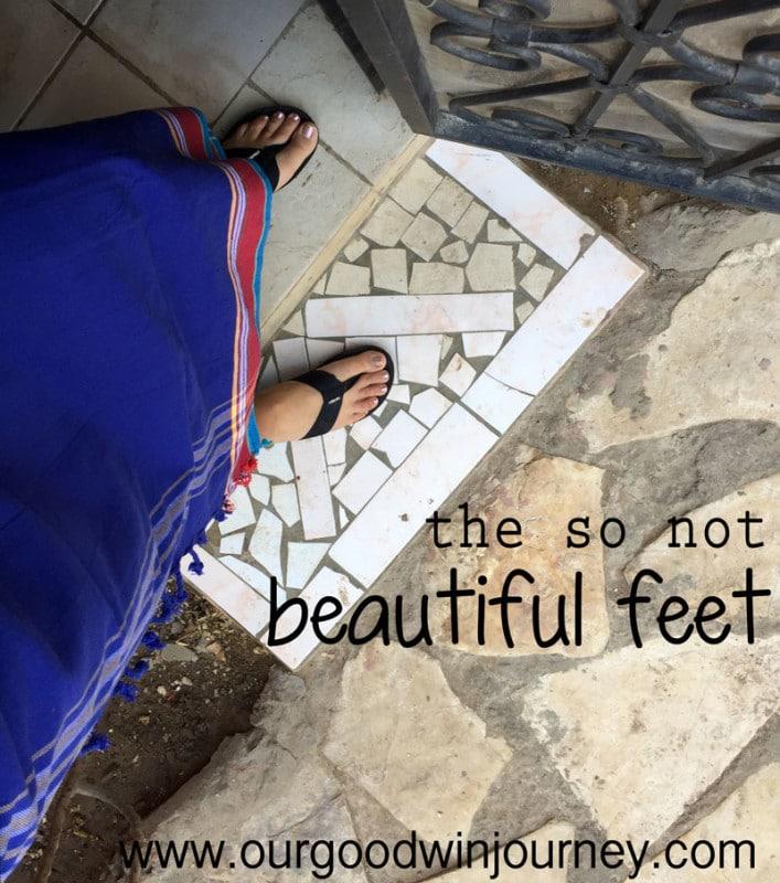 The So NOT Beautiful Feet