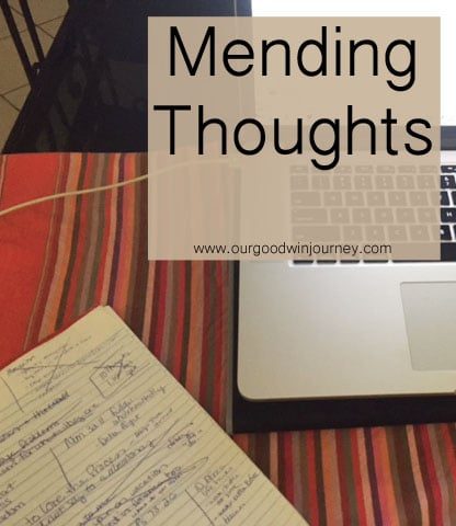 Mending Thoughts