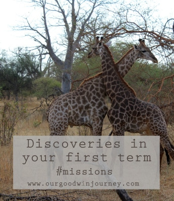 Living Overseas - First Term Discoveries in Missionary Life