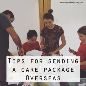 Missionary Care Packages - Sending a Care Package Overseas