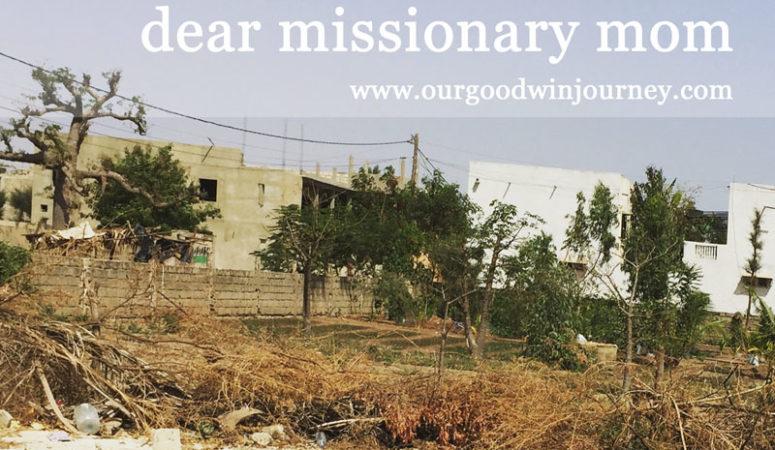 dear missionary mom