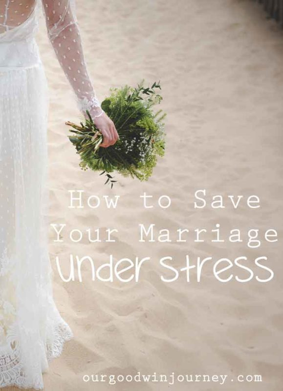 How to Save Your Marriage - Marriage Under Stress