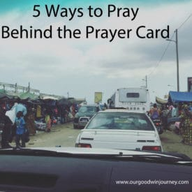 New Ways to Pray for Missionaries