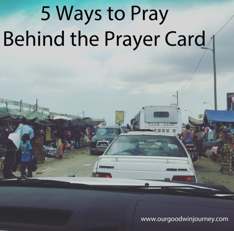 Prayer for Missionaries - New Ways to Pray for Missionaries and Families