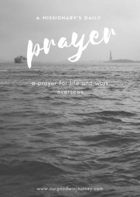 a daily prayer for difficult days when you don't know what to pray