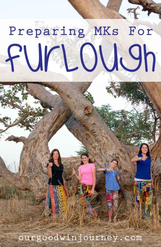preparing kids for furlough