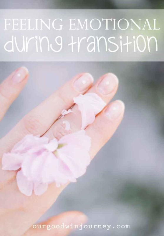 Feeling Emotional During Transition - What another move feels like