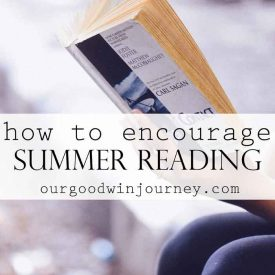 Encourage Summer Reading