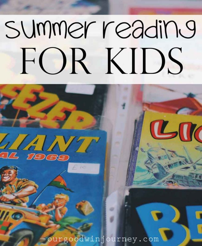 Encourage Summer Reading