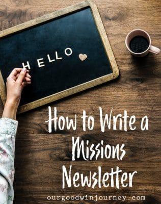 Newsletter Ideas for People Working Overseas