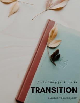 Brain Dump for Families in Transition