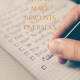 How to make new lists overseas