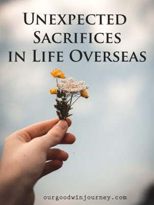 Unexpected Sacrifices - When sacrifice has a new meaning