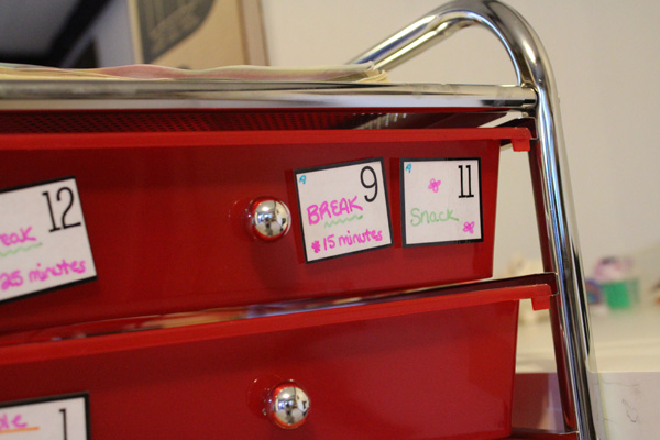 How to Homeschool - Homeschool Workbox System