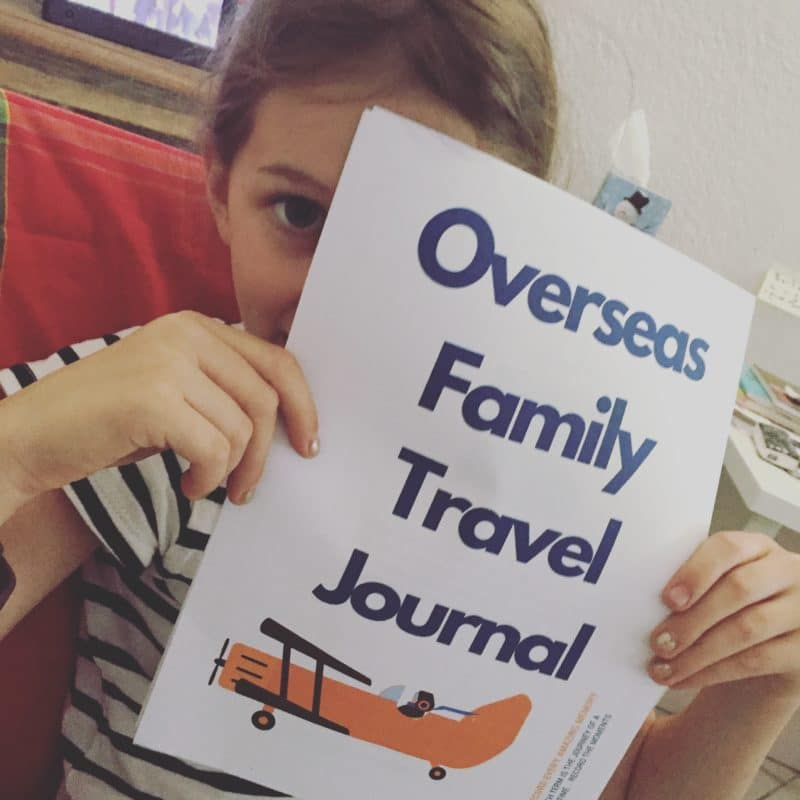 Overseas Family Travel Journal